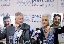صورة علاج أسماء الأسد كان حاضراً في مفاوضات تحرير معتقلين أمريكيين