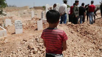 صورة منظمة حقوقية تحذر من زيادة حالات الانتحار بين الأطفال السوريين