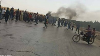 صورة مقتل 8 أشخاص في احتجاجات على ميليشيات قسد في منبج شمال سوريا