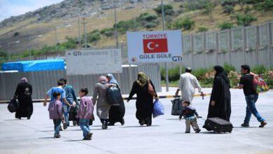 صورة تركيا تحدد شرطها للسماح للاجئين المقيمين على أراضيها بالدخول إلى سوريا