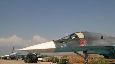 """صورة روسـ.ـيا تتفاخر بزيادة عدد طياريها """"القناصين"""" بعد تنفيذهم هجمات في سوريا"""