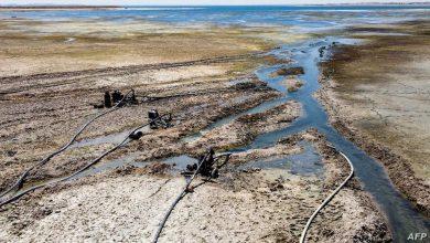 """صورة """"الجفاف قادم"""".. الصراعات السياسية وانخفاض مستوى نهر الفرات يهدد سوريا"""
