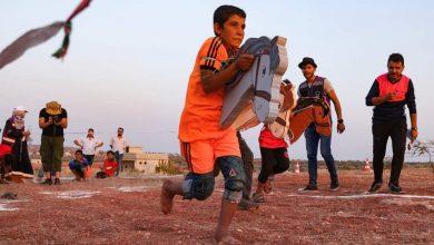 """صورة على طريقتهم الخاصة.. أطفال سوريون يتنافسون خلال """"أولمبياد الخيام"""""""