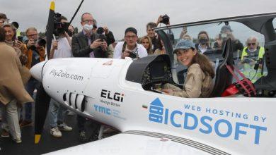 صورة بدأت الطيران في سن الـ14.. شابة بلجيكية تسعى لتكون أصغر امرأة تطير حول العالم