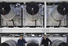 صورة افتتاح أكبر محطّة لامتصاص الكربون من الجوّ في آيسلندا
