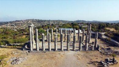 صورة اكتشاف آثار تعود إلى الفترة الهلنستية بولاية مرسين التركية