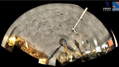 صورة التربة التي جمعها المسبار الصيني من القمر تدهش العلماء