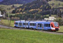 صورة إطلاق أول قطار يعمل بالهيدروجين في العالم