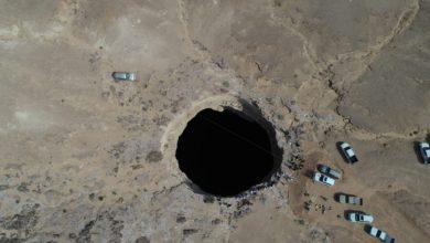 """صورة فريق عُماني يخوض تجربة مثيرة ويستكشف بئر برهوت """"سجن الجن"""" في اليمن"""