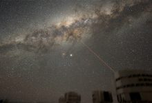 صورة اكتشاف تجويف عملاق في مجرة درب التبانة محاط بسديمين ظهرا بعد انفجار نجم عملاق