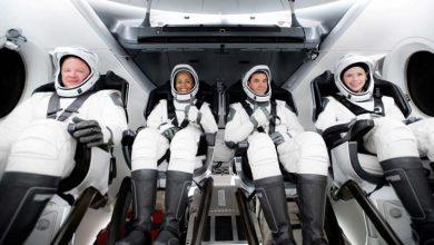 صورة بعد قضاءهم 3 أيام حول الأرض.. عودة أول سياح فضاء من شركة SpaceX بسلام