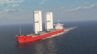 صورة قد تغير مستقبل الشحن البحري.. شركة تصنع أشرعة عملاقة قابلة للنفخ