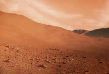 صورة ناسا: زلزال ضرب المريخ استمر لمدة 90 دقيقة