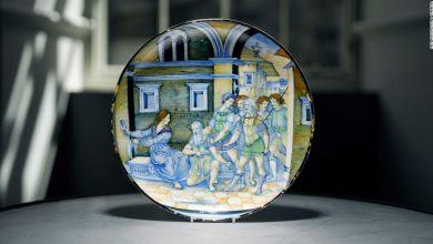 صورة يعكس قصة شمشون ودليلة.. طبق إيطالي نادر تم بيعه بـ 1.7 ميلون دولار