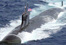 صورة غوّاصة نووية أميركية تصطدم بجسم مجهول في بحر الصين